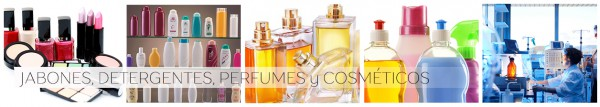 Jabones,detergentes,perfumes,cosmeticos