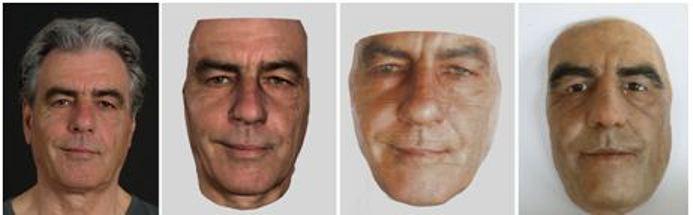 Imágenes tridimensionales con el escáner 3D de Artec.