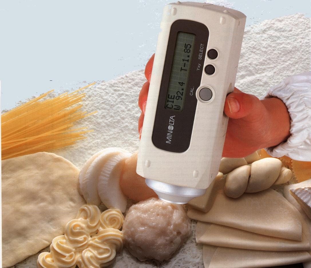 Medir blancura alimentos