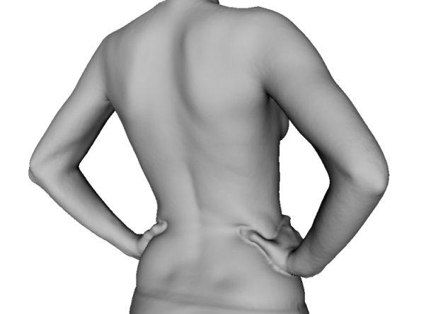 Digitalizador 3D para evaluar las afecciones de la espalda
