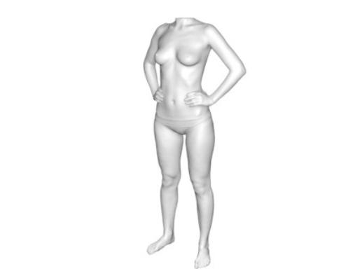 Digitalización 3D del cuerpo humano