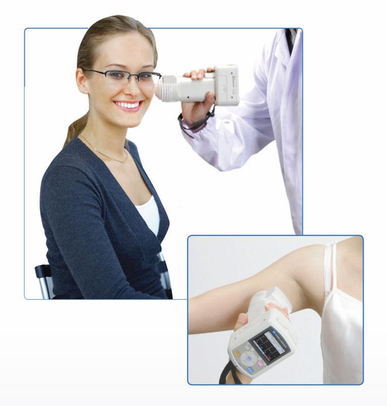Programa de análisis del color en la piel, pigmentación.