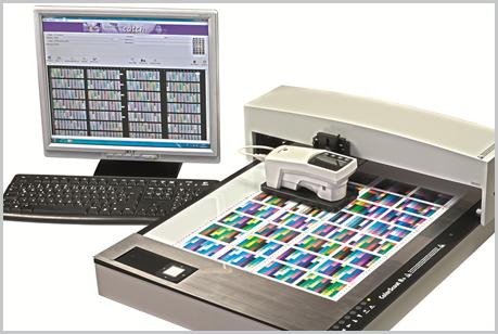 Nuevo sistema de gestión de color Konica Minolta, para impresión de inyección de tinta industrial.