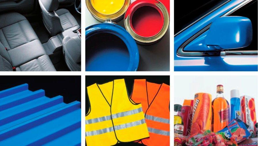 Medidor del color en el interior del automóvil, señales viales, recubrimientos, plásticos, pinturas, etc.