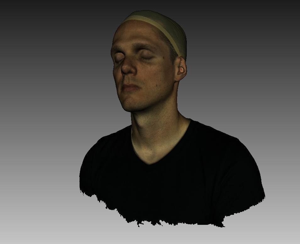 Digitalización 3D, reconocimiento facial