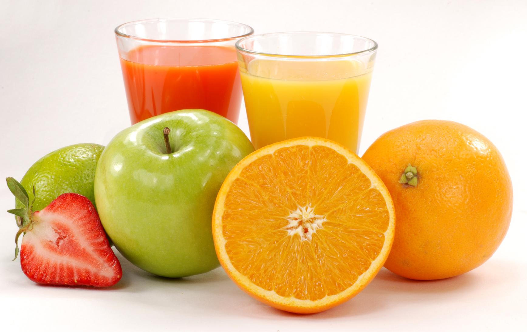 Medir color en frutas.