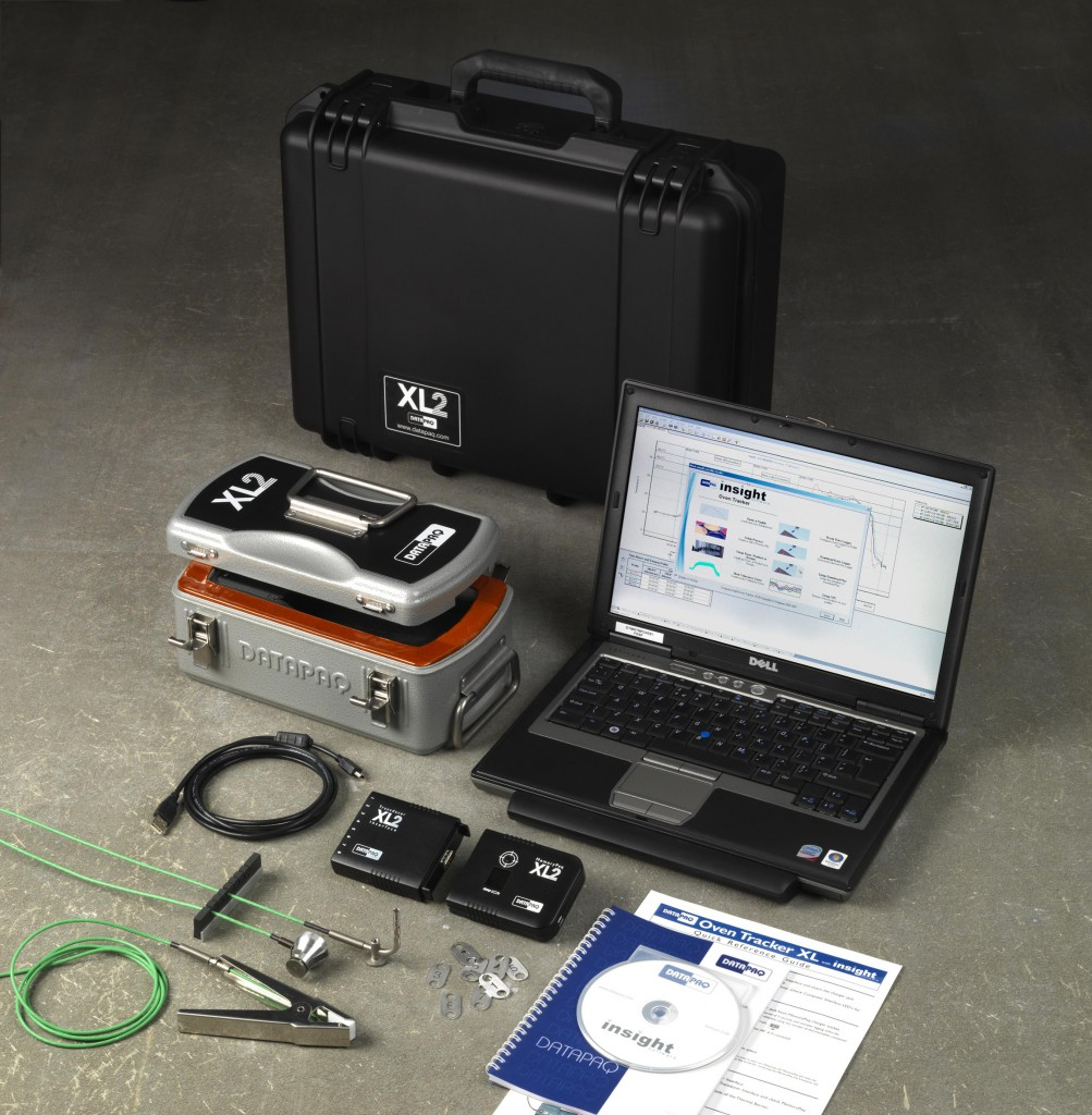 Sistema Datapaq Oven Tracker XL2 de control del perfil de temperatura