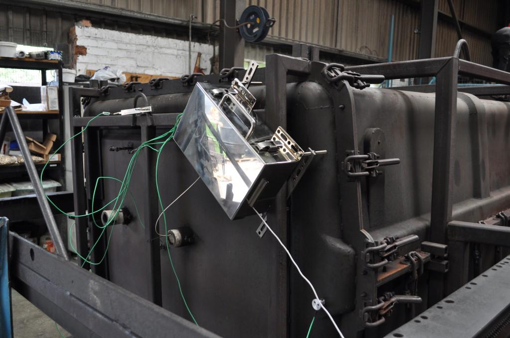 El sistema RotoPaq Lite proporciona una protección térmica especialmente adaptada a los procesos de rotomoldeo