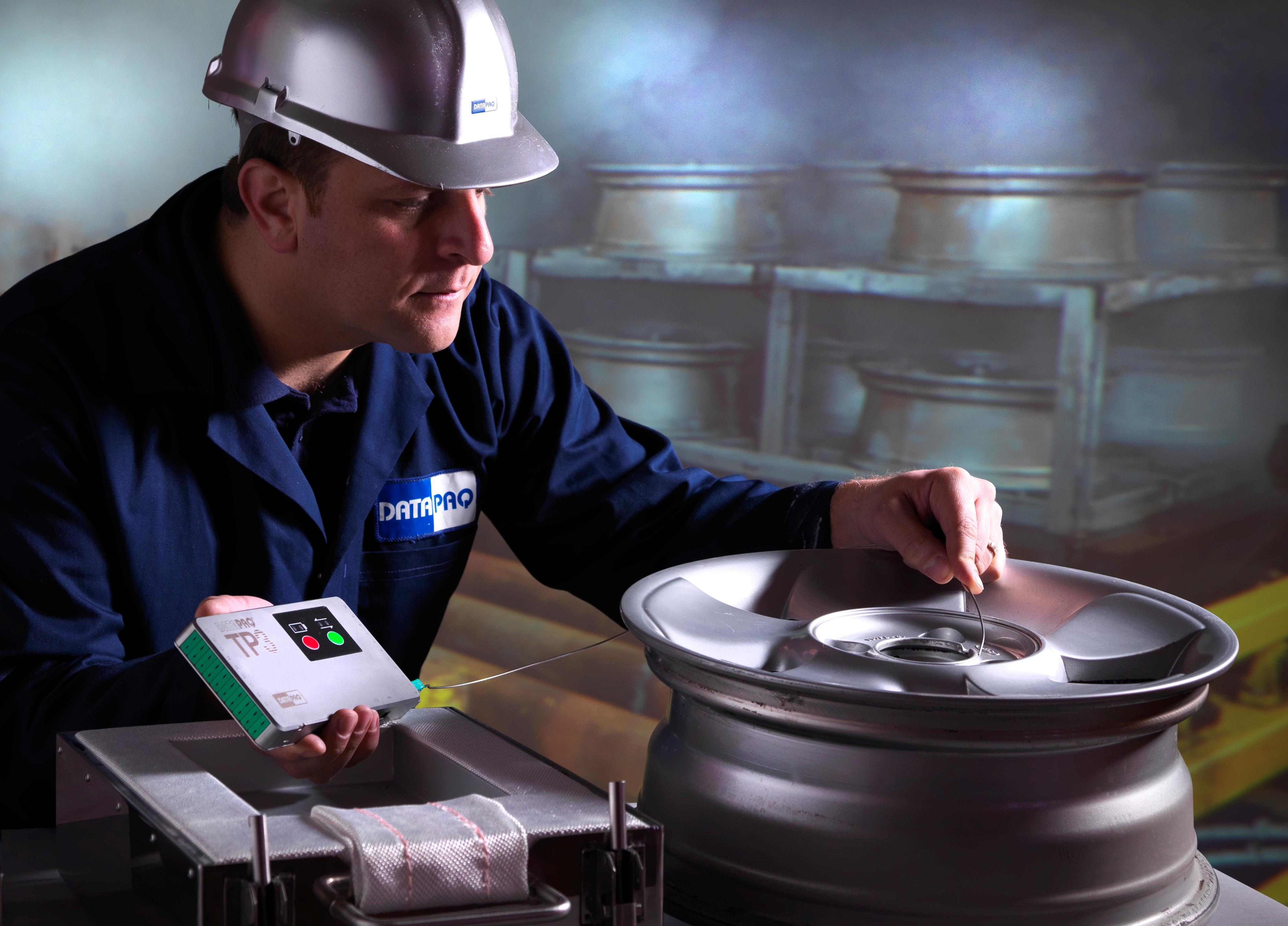 Registrador de temperatura TP3 para automoción, metalmecánica y tratamientos térmicos.