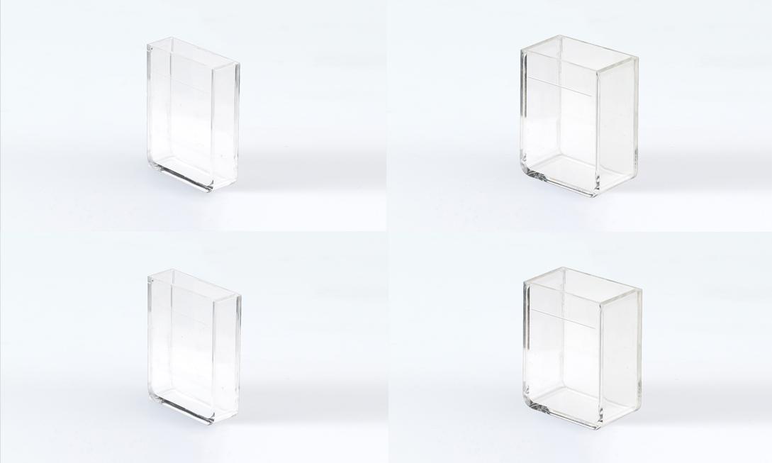 cubetas plastico paso luz