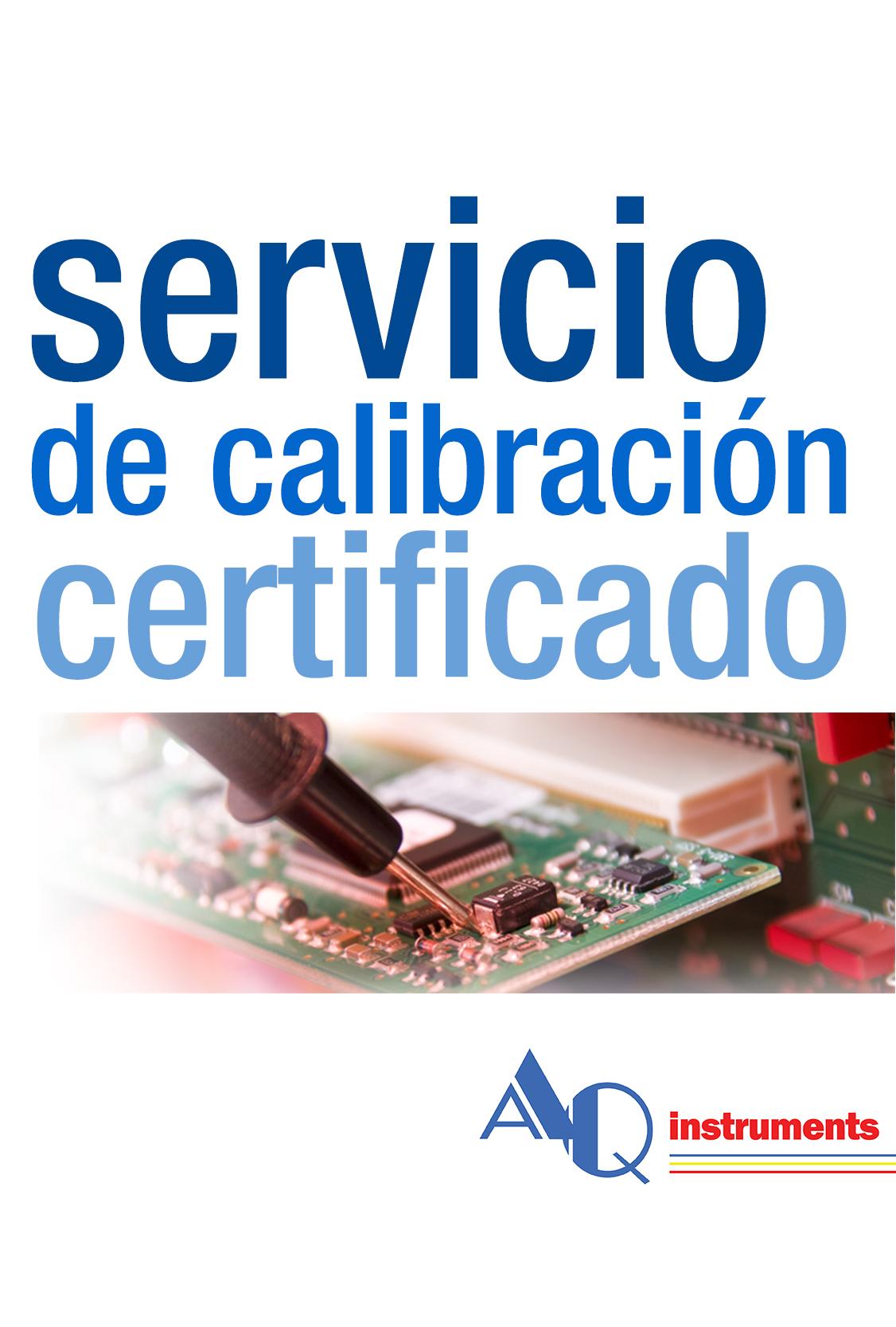Modelo servicio calibración