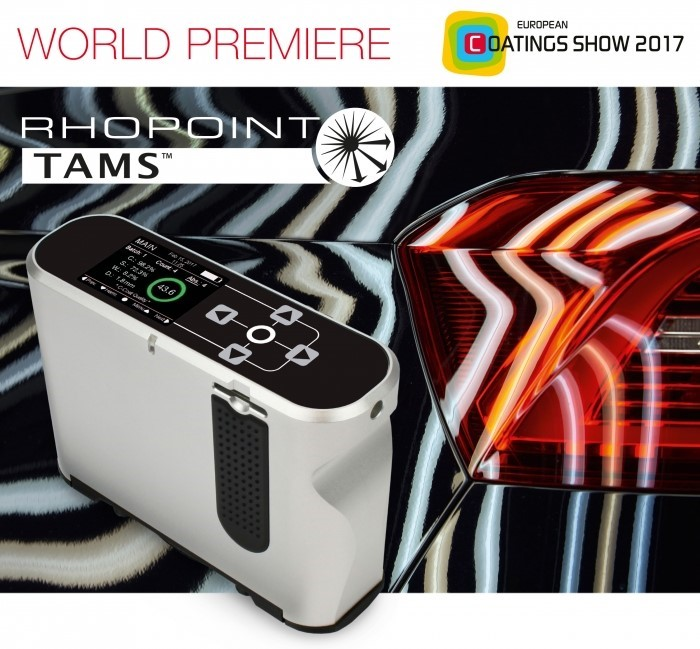 TAMS Konica Minolta Premier Mundial European Coatings Show 2017