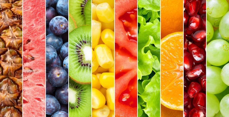 Los colores de los alimentos y sus beneficios - AQ ...