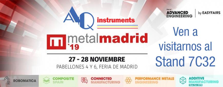 Firma MetalMadrid 2019