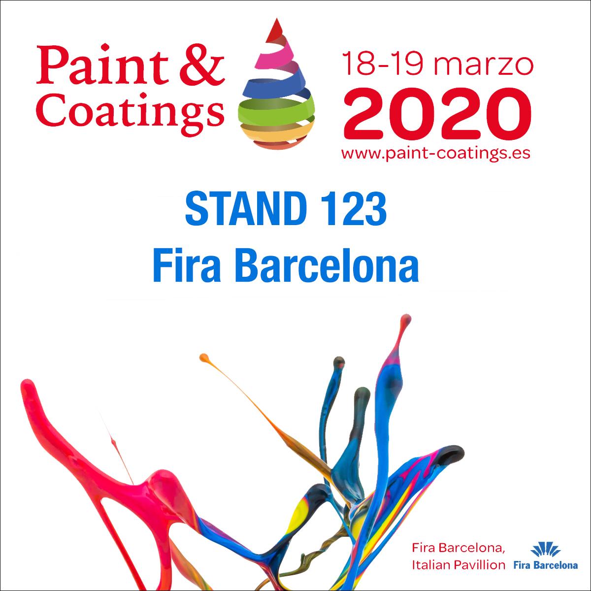 Véanos en https://www.paint-coatings.es/lista-de-expositores/
